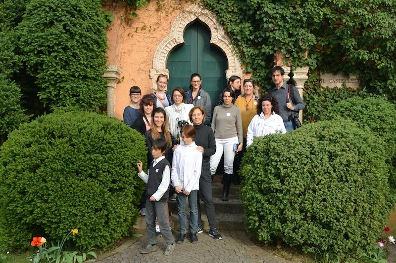 Foto di gruppo a Parco Giardino Sigurtà - Foto di La Petite Coco