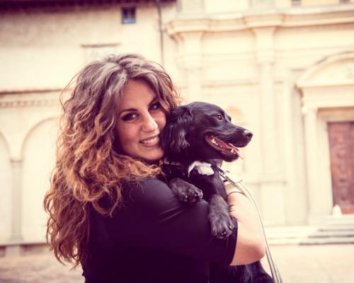Elisa Guidarelli, la founder di Wedding Dog Sitter