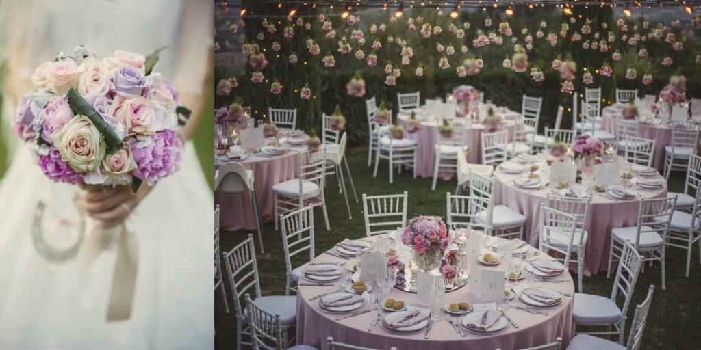 Il cielo di rose creato da Glenda... so romantic!
