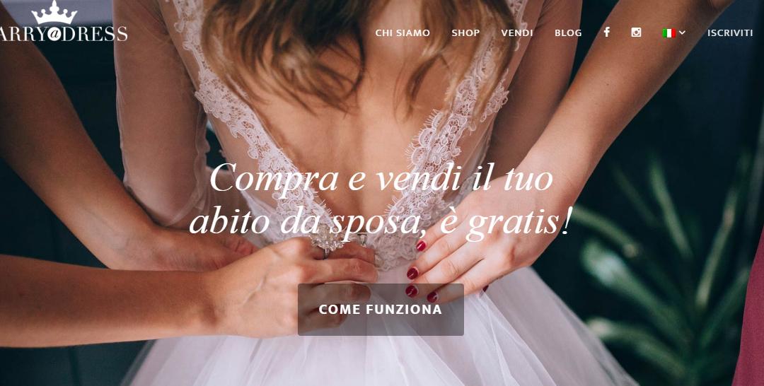 #StartupMonAmour – Marryadress, il marketplace giusto per il tuo abito da sposa