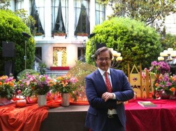 Angelo Garini celebra l'Umbria a Madrid