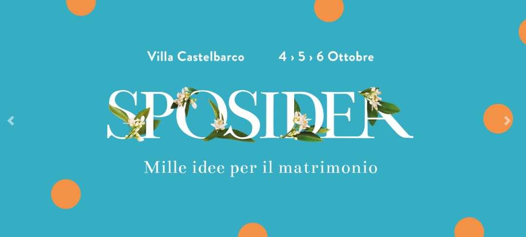 Save the date: Sposidea 2019 a Villa Castelbarco