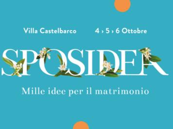 Save the date: Sposidea 2019 a Villa Castelbarco